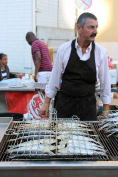 Sardine Festival in Lisbon, Portugal