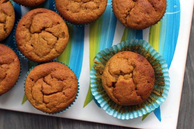 pumpkin cricket muffins