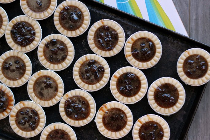 butter tarts unbaked