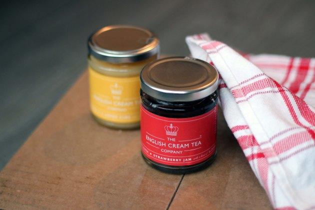 the english cream tea company strawberry jam