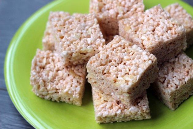 potato chip rice krispie squares