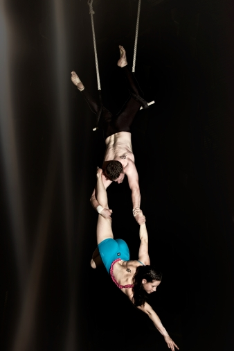double trapeze angel