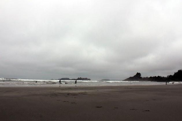 tofino british columbia cox bay surfers