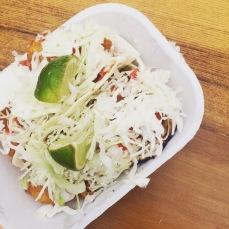 fish tacos from tacofino